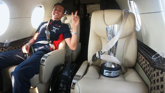 F1| 阿尔本无惧加斯利威胁:这没什么区别