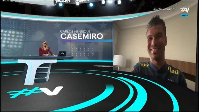 卡塞米罗接受采访