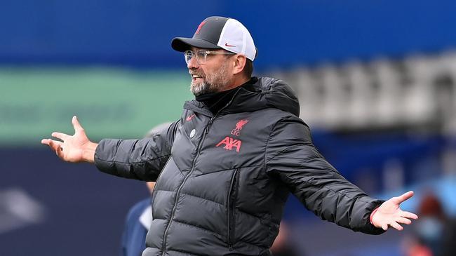 克洛普:利物浦拿出了顶级体现 能赢的话会更高兴