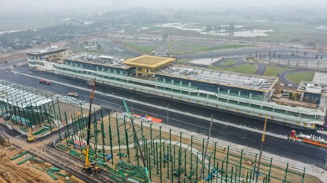 在建中的越南河内赛道