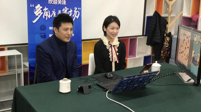 著名演员兼围棋喜欢好者孙涛跨界公好助阵央视围棋直播