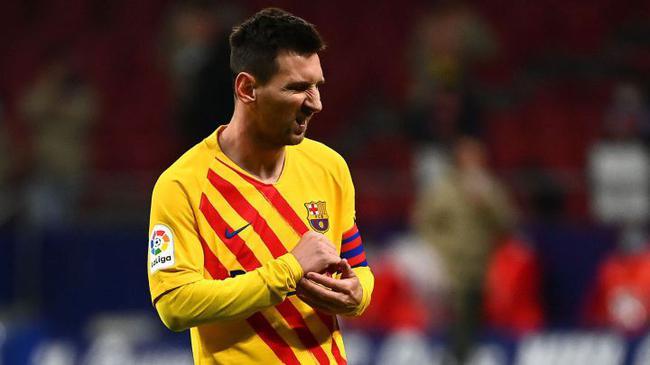 梅西深陷职业生涯低潮期 打马竞全场丢了23次球