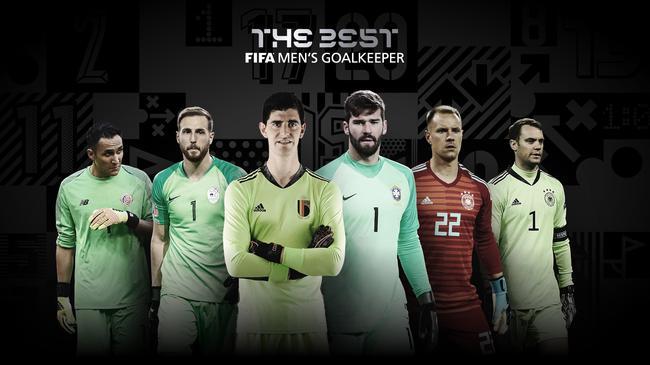 FIFA年度最佳门将候选:诺伊尔+皇马巴萨门将