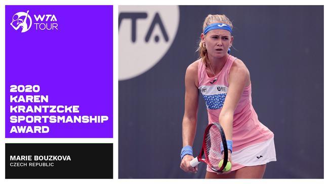 WTA年度最佳赛事因疫情空缺
