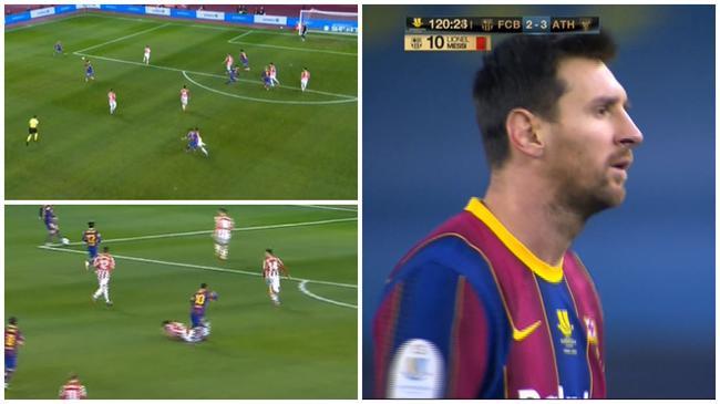 西媒:梅西或因红牌被追加处置 面临4到12场禁赛