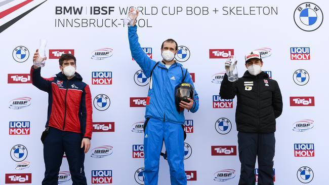 钢架雪车世界杯收官 杜库尔斯收成第十个总冠军