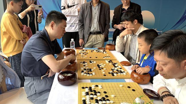 世界冠军马晓春九段