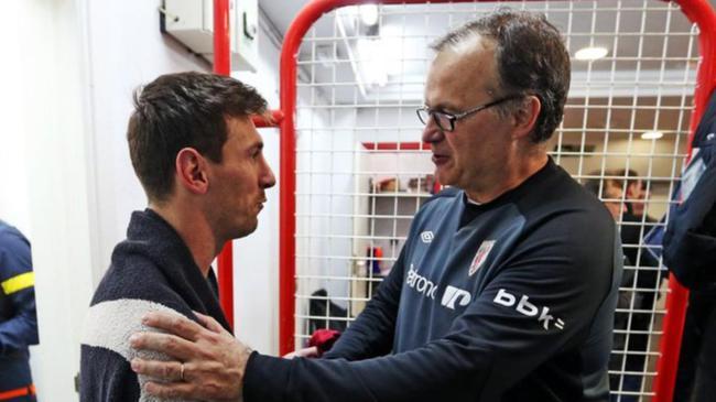阿前教练:贝尔萨第一次看梅西录像 以为画面快进了