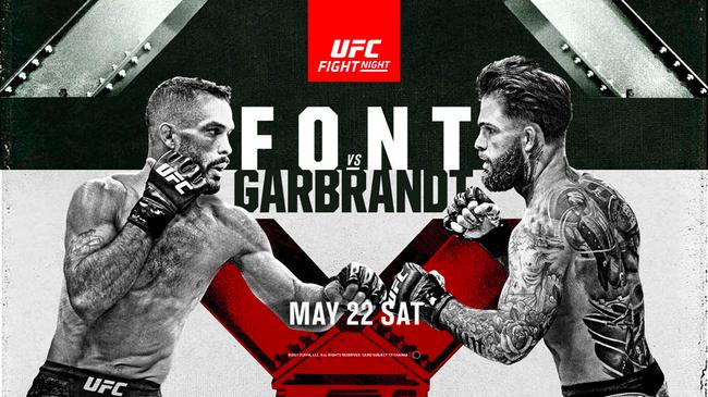 UFC格斗之夜:冯特 VS 加布兰特