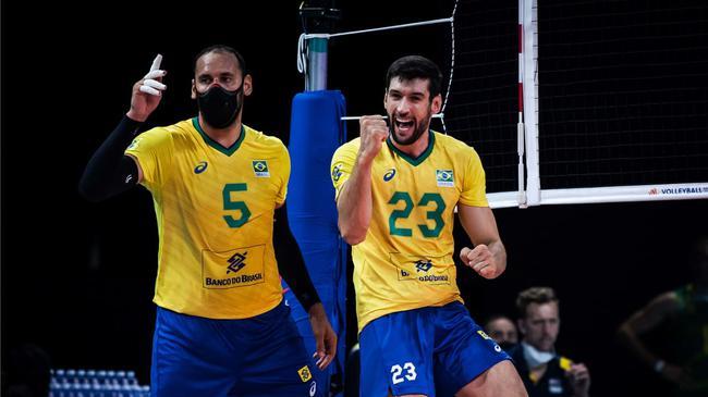 世联积分榜巴西男排11胜1负居首 动态排名亦首位