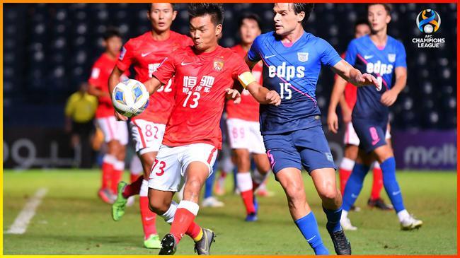 半场-广州队进攻有起色临门一脚欠火候 暂0-0杰志