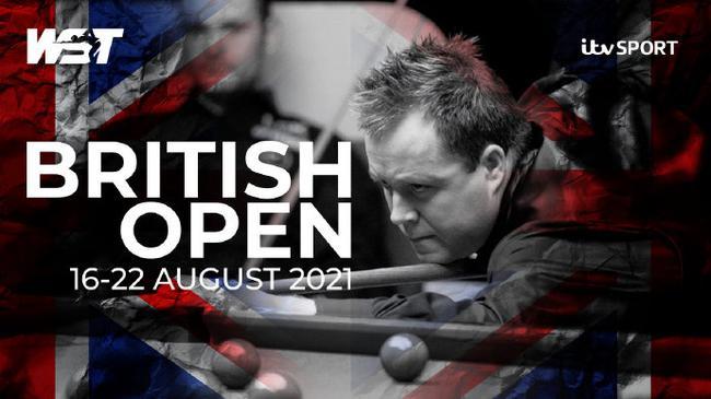 斯诺克英国公开赛8月举行 时隔17年重返职业赛历