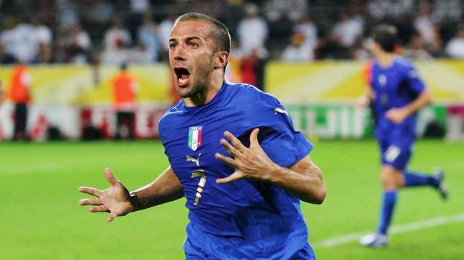 打进世界杯决赛15周年 皮耶罗鼓励意大利征服温布利