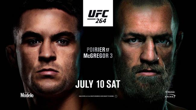 UFC264:普瓦里尔VS康纳上演史诗级三番对决