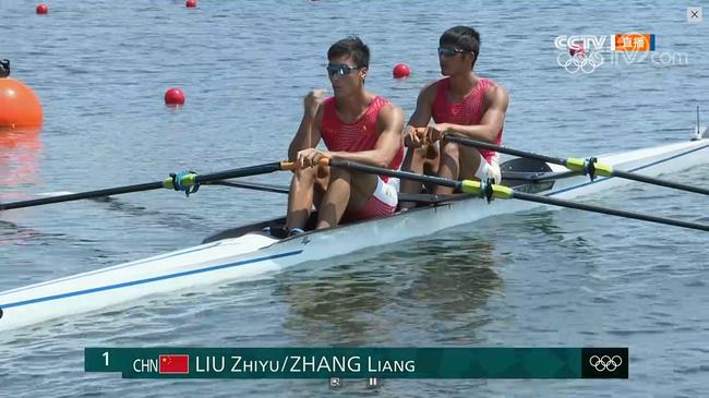 奥运赛艇首日:中国3项直通晋级 法荷连刷最佳成绩