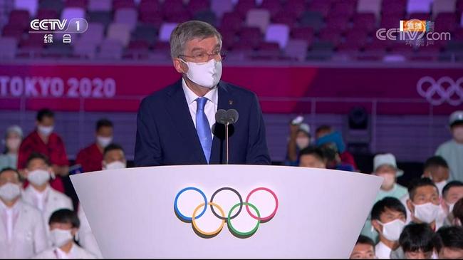 巴赫:奥运会将连结世界 我们总是因为团结而强大