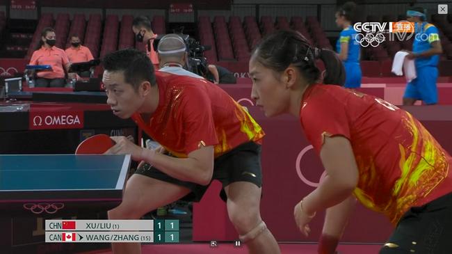奥运乒乓球混双首轮:昕雯组合逆转胜出 伊藤晋级