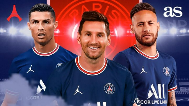 名记:巴黎认定姆巴佩明年离队  将免签C罗替代他