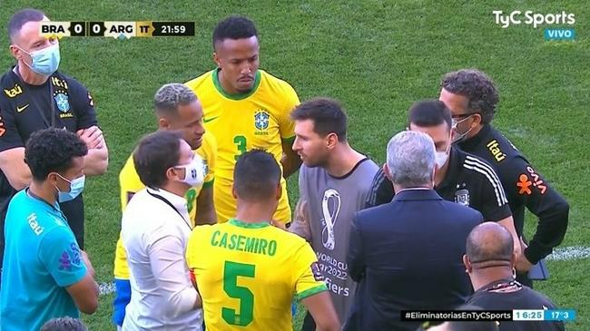 梅西怒怼巴西:特意等比赛开始后过来  全球都在看