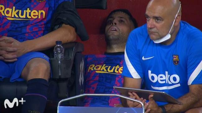 巴萨后卫高烧38.5度仍首发 比赛中又受伤离场!