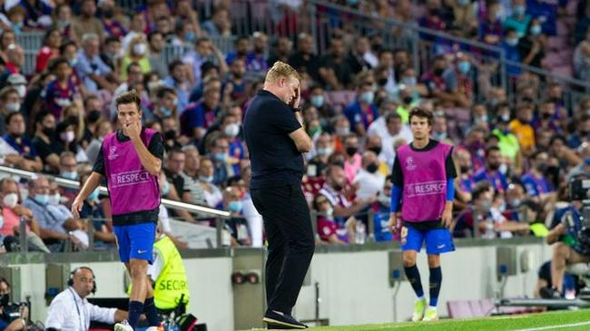 西班牙媒体:未来3场比赛决定科曼去留 若翻船随时被解雇!