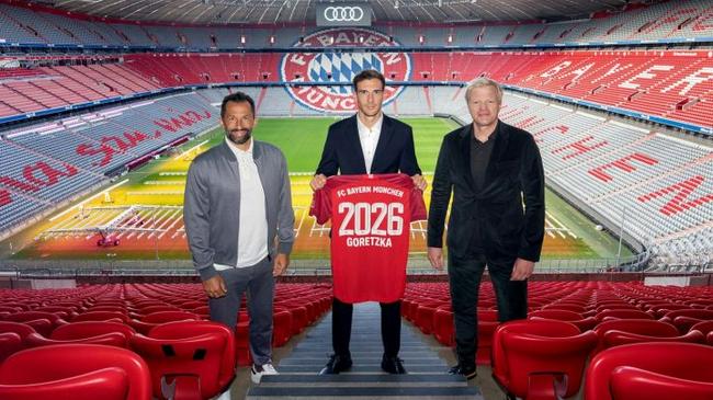 拜仁宣布与格雷茨卡续约到2026   避免其免费走人
