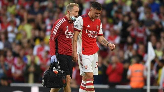 阿森纳官方宣布扎卡右膝严重受伤 手术休战3个月!