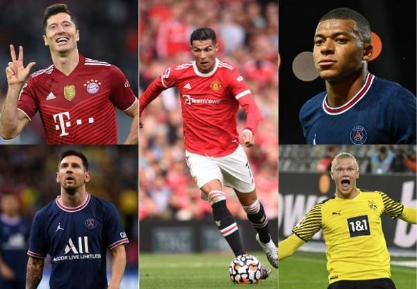 7大顶级射手竞争欧冠金靴  谁来坏梅西C罗好事?