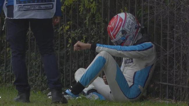 F1| 拉塞尔:犯下愚蠢的错误 我真的很抱歉