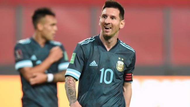 阿根廷客场2球完胜秘鲁