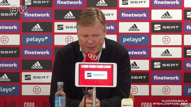 科曼:梅西再次证明自己是天生赢家 他永远都在