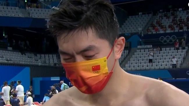 混接摘银 闫子贝流下男儿泪:离冠军最近的一次