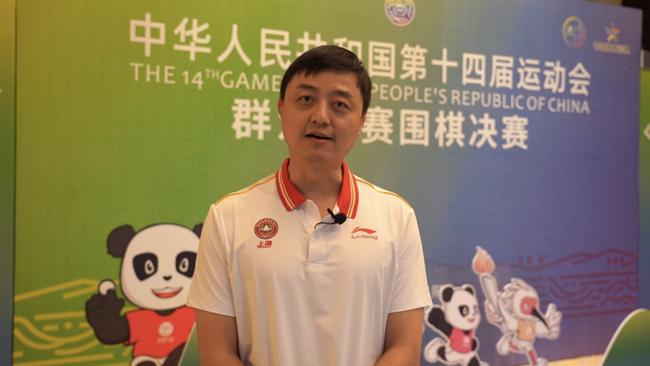 刘世振:混双夺金超出预期 希望后面队员有好发挥