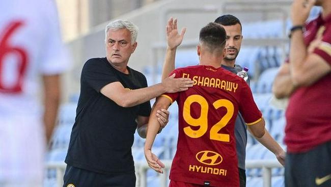 热身-罗马战平10人塞维利亚 穆里尼奥连平保不败