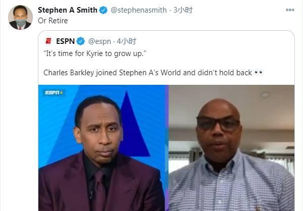巴克利还以为,篮网队完结哈登的买卖是因为他们现已受够了欧文