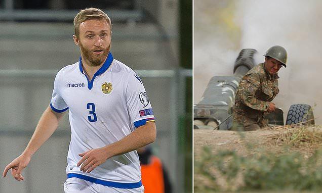 亚美尼亚队长放弃足球 走向战场守卫国家