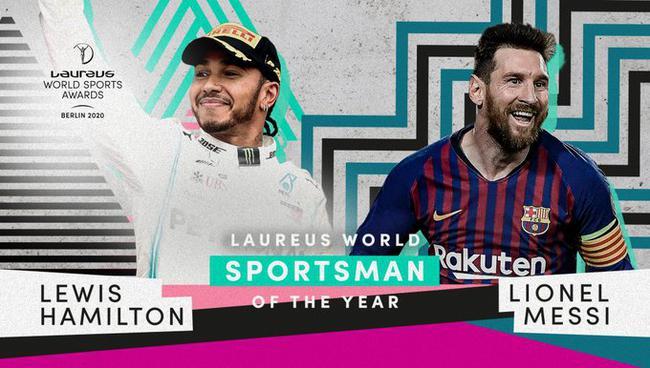 梅西和汉密尔顿中选最佳男运动
