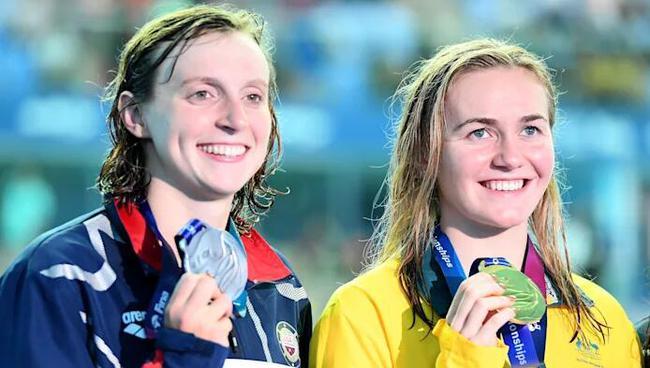 澳洲女泳将险破世界纪录 奥运再胜世界头号选手?