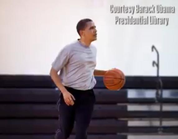 奥巴马加盟NBA非洲团队 曾想打职篮但天赋不够