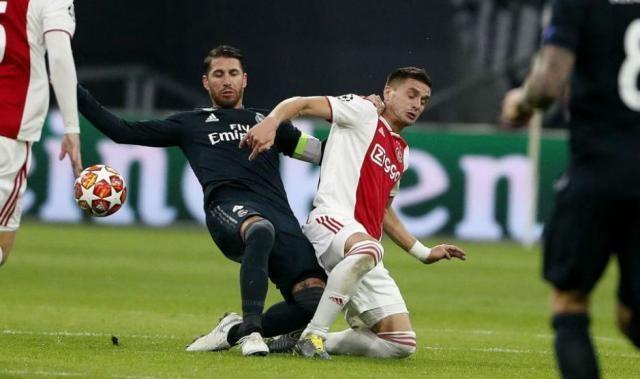 欧足联正式调查拉莫斯洗牌 皇马队长可能遭多场禁赛