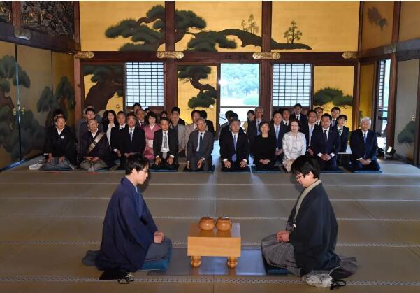 第73期本因坊战在京都市二条城进行