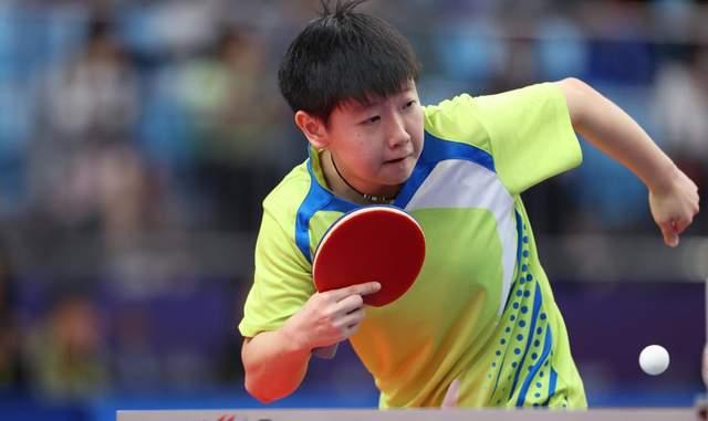 全运乒乓女团:冀津鲁黑率先进8强 孙颖莎陈梦均3-0