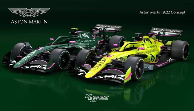 阿斯顿-马丁F1车队筹办用英国赛车规范绿为主色彩