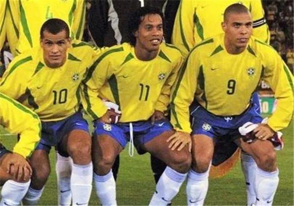 02年世界杯巴西的3R组合重现