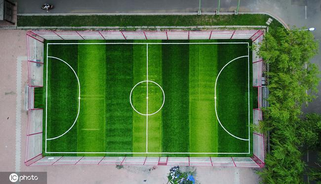 2019年全国共有10.53万个足球场