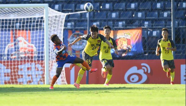 广州青年军不宜全面追求 能防住对方头球就是进步