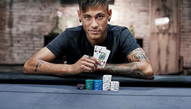 内马尔:希望退役后成为扑克牌选手 周游世界比赛
