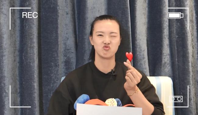 """张常宁年度表情""""满满的爱"""" 东京奥运目标要出力"""