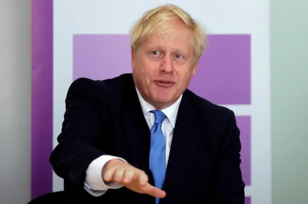 英国首相鲍里斯-约翰逊