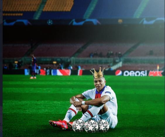 全球媒体盛赞姆巴佩:梅西?真正巨星是姆巴佩